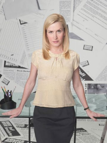 Angela Kinsey starred as Angela Martin in The Office. @NBC All Rights Reserved.
