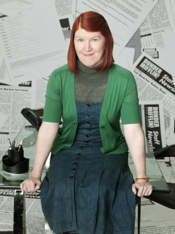 Kate Flannery as Meredith Palmer. NBC Photo: Mitchell Haaseth