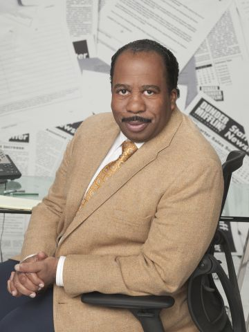 Leslie David Baker as Stanley Hudson. NBC Photo: Mitchell Haaseth