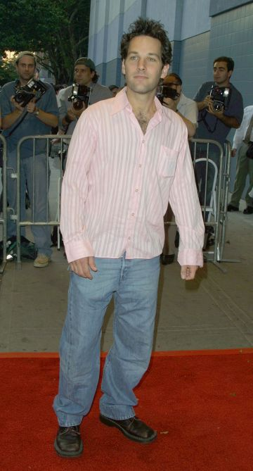2001: Paul Rudd during Lisa Picard Is Famous Premiere at Chelsea West Theatre in New York City, New York, United States. (Photo by Jim Spellman/WireImage)