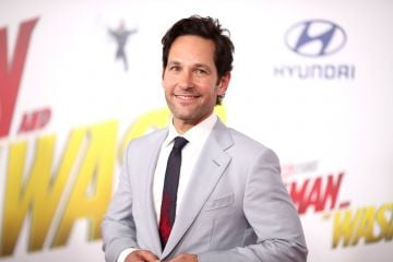 "2018: Paul Rudd attends the premiere of Disney And Marvel's ""Ant-Man And The Wasp"" on June 25, 2018 in Los Angeles, California.  (Photo by Christopher Polk/Getty Images)"