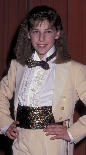 Prior to her standout role as Amy in The Big Bang Theory, Mayim Bialik held many starring roles in TV shows such as MacGyver and Blossom.  Pictured: Mayim Bialik attends 46th Annual Golden Globe Awards on January 28, 1989. (Photo by Ron Galella, Ltd./Ron Galella Collection via Getty Images)