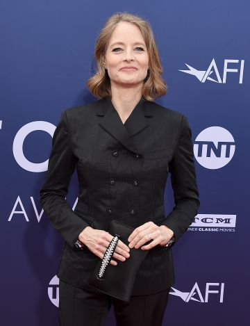 Jodie Foster attends the American Film Institute's 47th Life Achievement Award Gala Tribute To Denzel Washington at Dolby Theatre on June 6, 2019 in Hollywood, California.  (Photo by Gregg DeGuire/WireImage)
