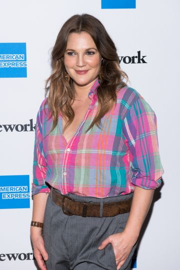 """Barrymore attends American Express and WeWork """"For The Love Of Collaboration"""" at WeWork on May 15, 2019 in New York City. (Photo by Mike Pont/Getty Images)"""