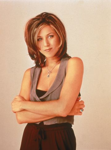 Promotional portrait of American actor Jennifer Aniston for the television series, 'Friends,' c. 1995.  (photo by NBC Television/Getty Images)