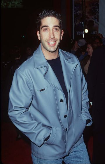 """David Schwimmer during """"Romeo & Juliet"""" Los Angeles Premiere at Mann Chinese Theatre in Los Angeles, California, United States. (Photo by SGranitz/WireImage)"""