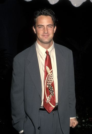 Matthew Perry during NBC's Annual Winter Press Tour All-Star Reception at Ritz Carlton Hotel in Pasadena, California, United States. (Photo by Ron Galella, Ltd./Ron Galella Collection via Getty Images)