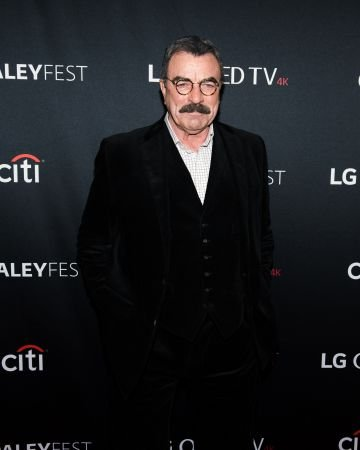 """Actor Tom Selleck attends the """"Blue Bloods"""" screening during PaleyFest NY 2017 at The Paley Center for Media on October 16, 2017 in New York City.  (Photo by Noam Galai/Getty Images)"""