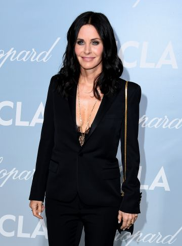 Courteney Cox attends the 2019 Hollywood For Science Gala at Private Residence on February 21, 2019 in Los Angeles, California. (Photo by Steve Granitz/WireImage)