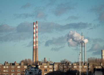 At least the two chimneys at the Ringsend power station look like they get to stay close to each other. Can't wait till we're all like that again. By Eoin R