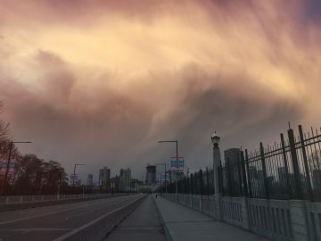Clouds rolling in over Vancouver, baby! By Euan M