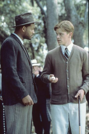 1999: Will Smith And Matt Damon Star In The Legend Of Bagger Vance.  (Photo By Getty Images)