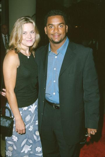 1996: Alfonso Ribeiro & Robin Stapler during The 2nd Annual Family Television Awards at Beverly Hilton Hotel in Beverly Hills, California, United States. (Photo by SGranitz/WireImage)