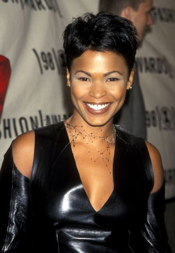 Nia Long during 1998 VH1 Fashion Awards at Madison Square Garden in New York City, New York, United States. (Photo by Ron Galella/Ron Galella Collection via Getty Images)