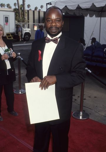 1993: Actor Joseph Marcell attends the First Annual Soul Train Comedy Awards on August 3, 1993 at the Santa Monica Civic Auditorium in Santa Monica, California. (Photo by Ron Galella, Ltd./Ron Galella Collection via Getty Images)