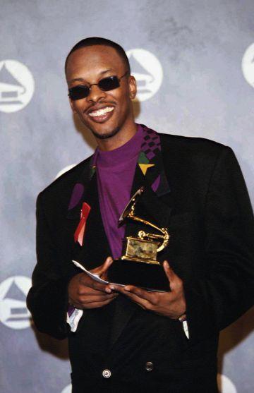 1989: Best Rap Performance Grammy Award to Jazzy Jeff.  (Photo by Rick Maiman/Sygma via Getty Images)