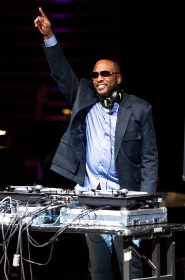 2019: DJ Jazzy Jeff performs on stage during the 2019 Marian Anderson Award Honoring Kool & The Gang at The Kimmel Center on November 12, 2019 in Philadelphia, Pennsylvania. (Photo by Gilbert Carrasquillo/Getty Images)