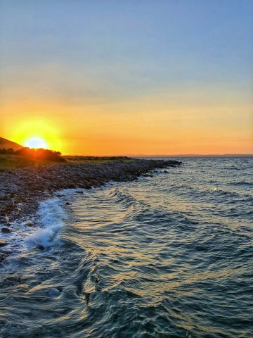 Taken in Co. Clare.   'Better times are coming. Once we focus on the light in the horizon and let the waves of anxiety wash away'  By Shane O'R