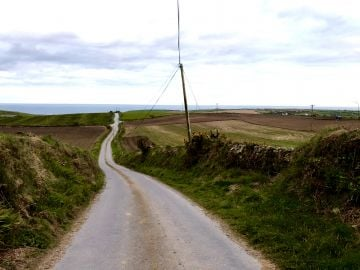 Taken in Ardfield, Clonakilty.   'Covid 19: The Long and Windy Road'  By Danielle H.