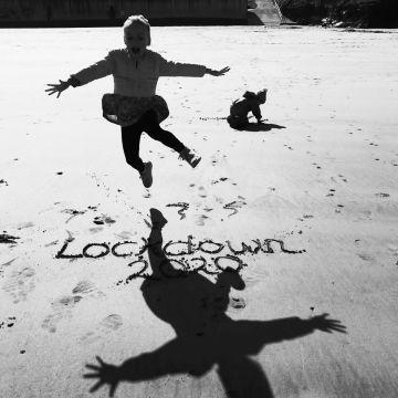 Taken in Doonbeg.  'Lockdown 2020 - Getting over it!'.  By Lisa McM.