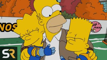 Often seen as the idiotic patriarch of the Simpsons family, Homer Simpson proves to be a well-meaning and loving parent.  @20th Century Fox Television. All Rights Reserved.