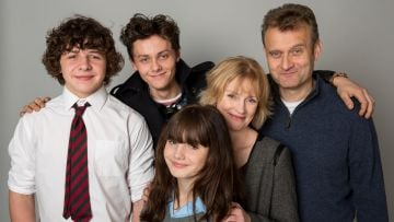Hugh Dennis took on the witty and often hopeless role of Pete Brockman in Outnumbered. @Hat Trick Productions. All Rights Reserved.