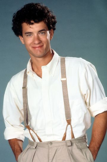 1985: Tom Hanks publicity portrait for the film 'The Man With One Red Shoe', 1985. (Photo by 20th Century-Fox/Getty Images)
