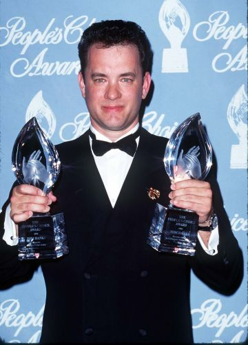 1996: Tom Hanks during 22nd Annual People's Choice Awards at Universal Studios in Universal City, California, United States. (Photo by SGranitz/WireImage)