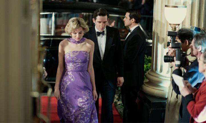 The Crown season 4 emma corrin princess diana Josh o