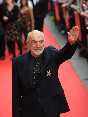 Sir Sean Connery attends the opening film of The Edinburgh Film Festival: The Illusionist on June 16, 2010 in Edinburgh, Scotland. (Photo by Ian Jacobs/Getty Images)