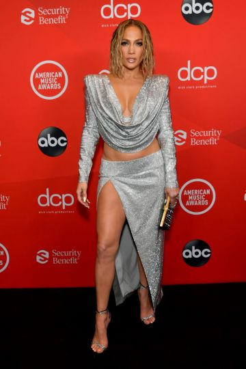 Jennifer Lopez attends the 2020 American Music Awards at Microsoft Theater on November 22, 2020 in Los Angeles, California. (Photo by Emma McIntyre /AMA2020/Getty Images for dcp)