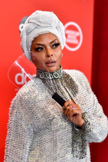 Taraji P. Henson attends the 2020 American Music Awards at Microsoft Theater on November 22, 2020 in Los Angeles, California. (Photo by Emma McIntyre /AMA2020/Getty Images for dcp)