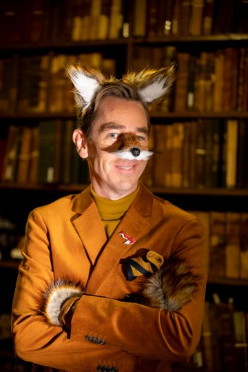 RTÉ presenter Ryan Tubridy will channel Fantastic Mr Fox for the eagerly-anticipated opening number of The Late Late Toy Show 2020.  The theme for the show has been revealed to be The Wonderful World of Roald Dahl.   Picture: Andres Poveda