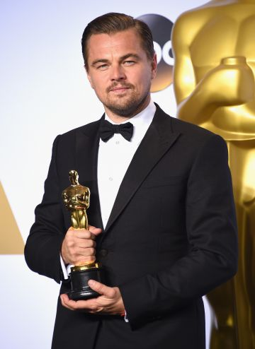 Need we say more? Actor Leonardo DiCaprio broke his streak of bad luck when he won Best Actor for 'The Revenant,' at the 88th Annual Academy Awards. DiCaprio had been nominated six times the past before finally beating out the competition.  (Photo by Jason Merritt/Getty Images)