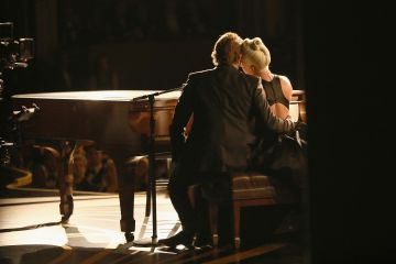 Bradley Cooper and Lady Gaga warmed the hearts of the nation with their performance of Shallow during the 91st Annual Academy Awards 2019. The chemistry between the pair was so convincing that the rumour mill exploded with reports that they were together.  (Photo by Matt Sayles - Handout/A.M.P.A.S. via Getty Images)
