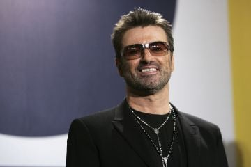 English singer songwriter George Michael started his career as part of the music duo Wham!  (Photo by Sean Gallup/Getty Images)