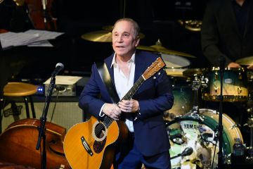American musician Paul Simon has been in the music business for nearly six decades. He reached fame as one half of the duo SImon & Garfunkel.   (Photo by Ilya S. Savenok/Getty Images)