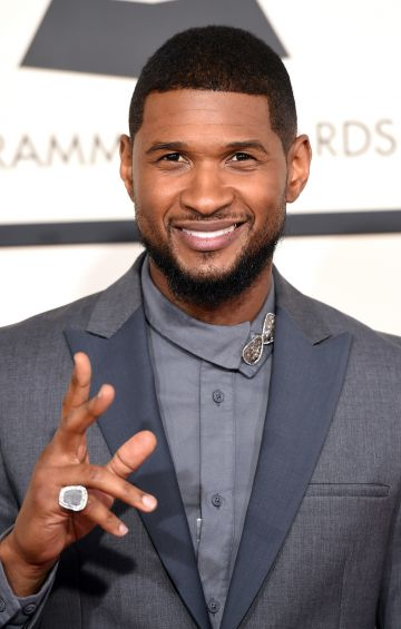 R&B superstar Usher originally started out as part of a quintent called NuBeginnings at the age of ten.  (Photo by Jason Merritt/Getty Images)