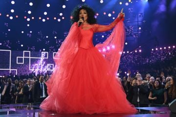 Diana Ross rose to fame as lead singer of The Supreme's, the world's best-selling girl group of all time.  (Photo by Kevin Mazur/Getty Images for The Recording Academy)