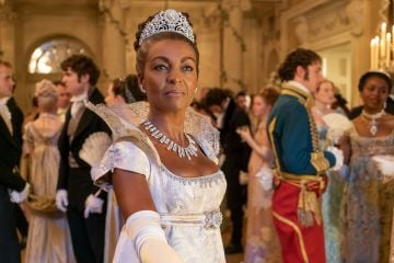 Adjoa Andoh plays the role of Lady Danbury. The Bristol-born actress is well respected in the theatre world. She has also appeared in Casualty, Doctor Who and Eastenders.  Image credit: Netflix (2020)