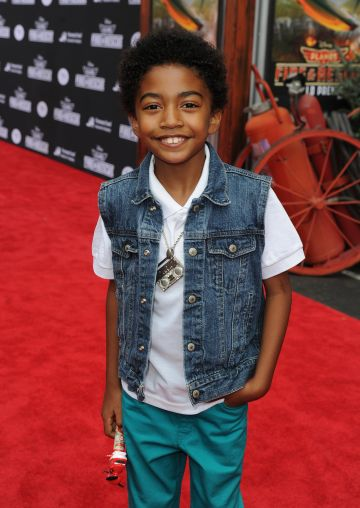 2014: Miles Brown stars as third oldest child Jack Johnson.   (Photo by Kevin Winter/Getty Images)