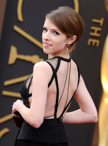 2014: :  Actress Anna Kendrick arrives at the 86th Annual Academy Awards at Hollywood & Highland Center on March 2, 2014 in Hollywood, California.  (Photo by Axelle/Bauer-Griffin/FilmMagic)