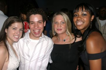 2003: Castmembers of Camp: Anna Kendrick, Robin De Jesus, Alana Allen and Sasha Allen (Photo by Bruce Glikas/FilmMagic)