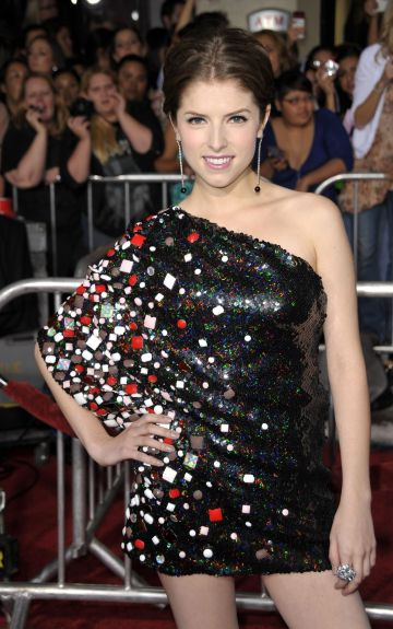 "2009:  Actress Anna Kendrick arrives at ""The Twilight Saga: New Moon"" premiere held at the Mann Village Theatre on November 16, 2009 in Westwood, California.  (Photo by John Shearer/WireImage)"