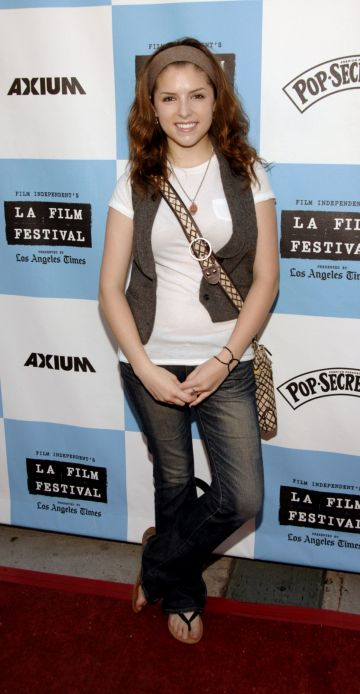 "2007:  Anna Kendrick attends the Los Angeles Film Festival Premiere Of ""Rocket Science"" at the Mann Festival Theater on June 30, 2007 in Westwood, California. (Photo by John M. Heller/Getty Images)"