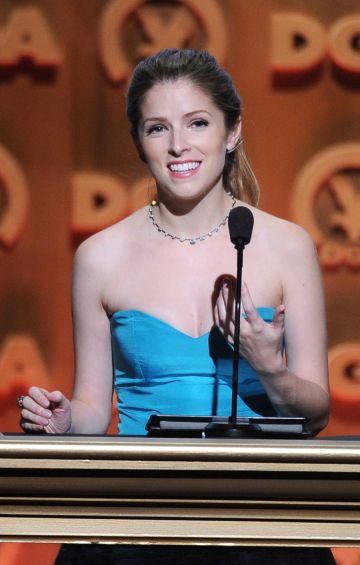 2014:  Actress Anna Kendrick onstage at the 66th Annual Directors Guild Of America Awards held at the Hyatt Regency Century Plaza on January 25, 2014 in Century City, California.  (Photo by Alberto E. Rodriguez/Getty Images for DGA)