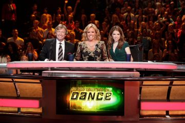 SO YOU THINK YOU CAN DANCE: (L-R) Resident judges Nigel Lythgoe, Mary Murphy and guest judge Anna Kendrick on SO YOU THINK YOU CAN DANCE airing Tuesday, July 30 (8:00-10:00 PM ET/PT) on FOX. (Photo by FOX Image Collection via Getty Images)