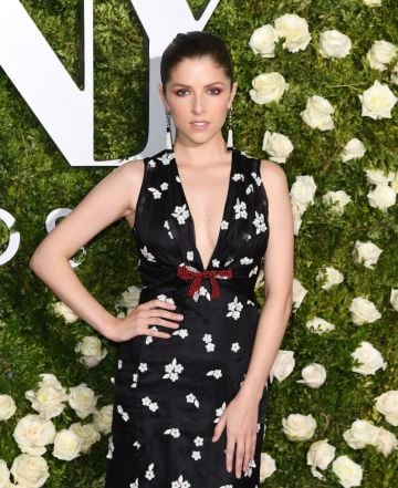 2017: Anna Kendrick attends the 2017 Tony Awards - Red Carpet at Radio City Music Hall on June 11, 2017 in New York City.  / AFP PHOTO / ANGELA WEISS        (Photo credit should read ANGELA WEISS/AFP via Getty Images)