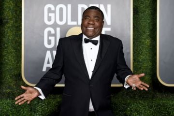 Tracy Morgan attends the 78th Annual Golden Globe® Awards at The Rainbow Room on February 28, 2021 in New York City.  (Photo by Dimitrios Kambouris/Getty Images for Hollywood Foreign Press Association)