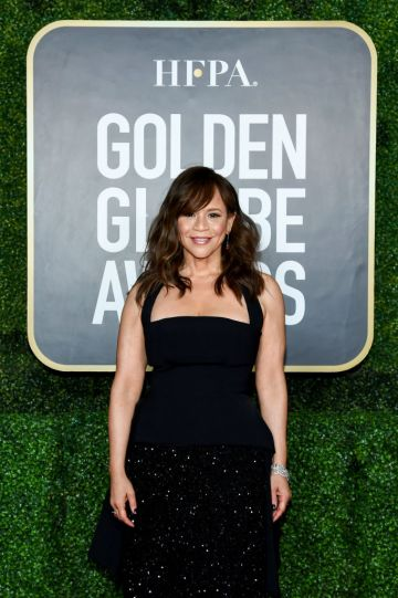 Rosie Perez attends the 78th Annual Golden Globe® Awards at The Rainbow Room on February 28, 2021 in New York City.  (Photo by Dimitrios Kambouris/Getty Images for Hollywood Foreign Press Association)
